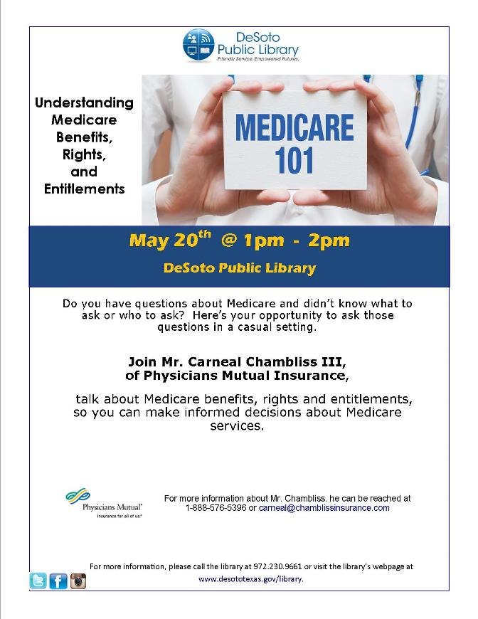 Medicare Chambliss flier May 2017