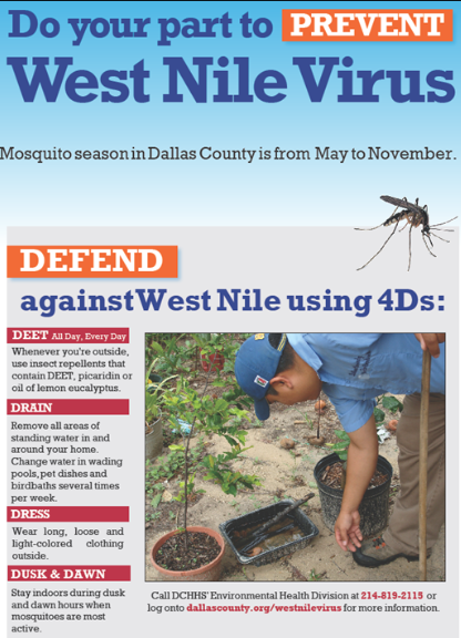West Nile flyer