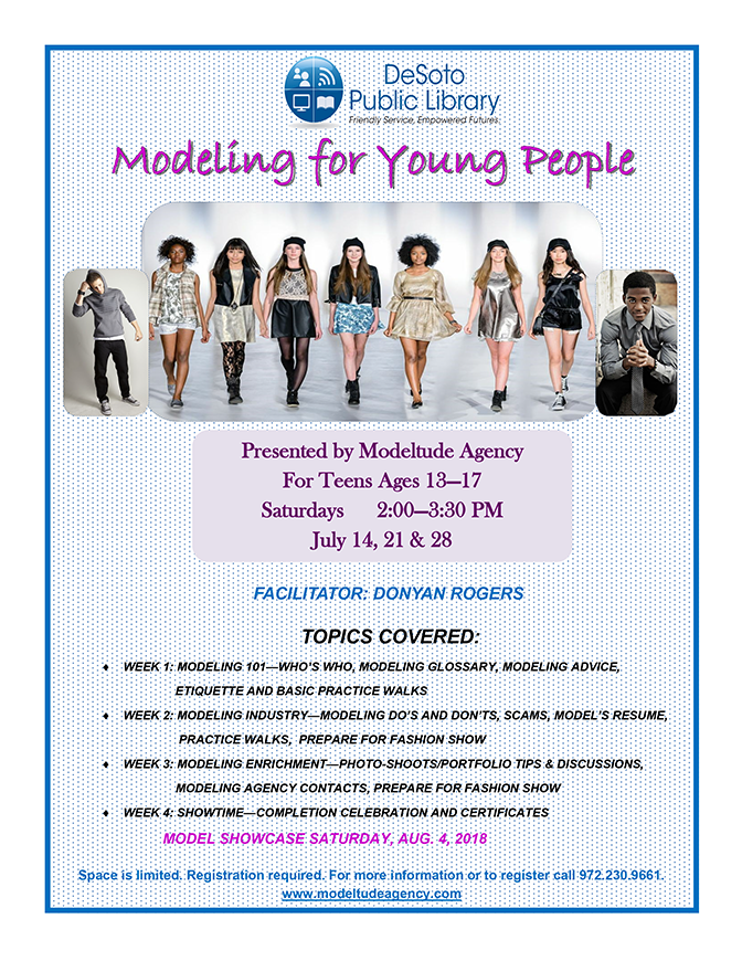 Modeling for Young People