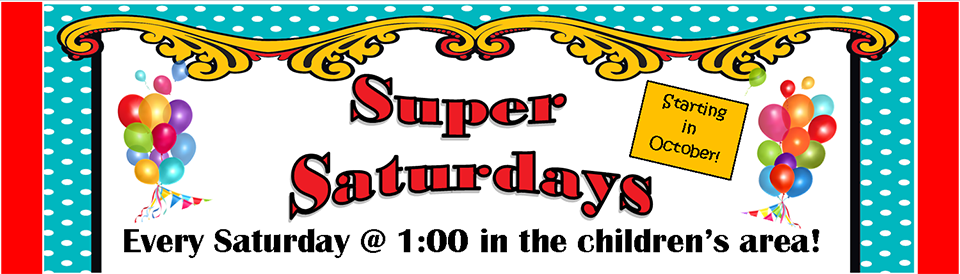 Super Saturdays 2019 banner
