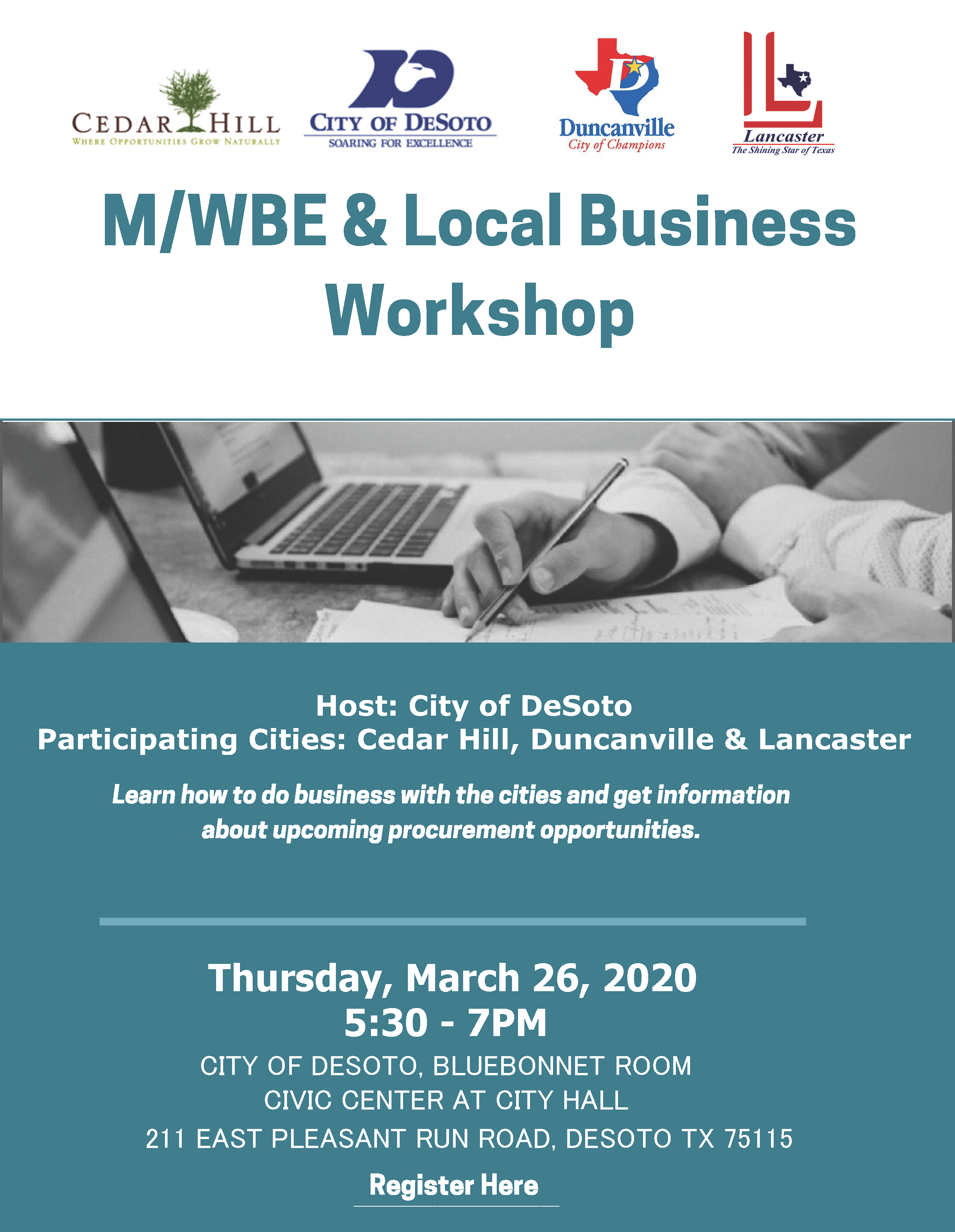 March 2020 MWBE Workshop