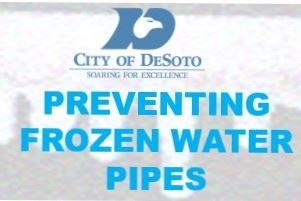 Frozen Water Pipes Graphic