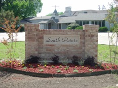 South Pointe monument sign