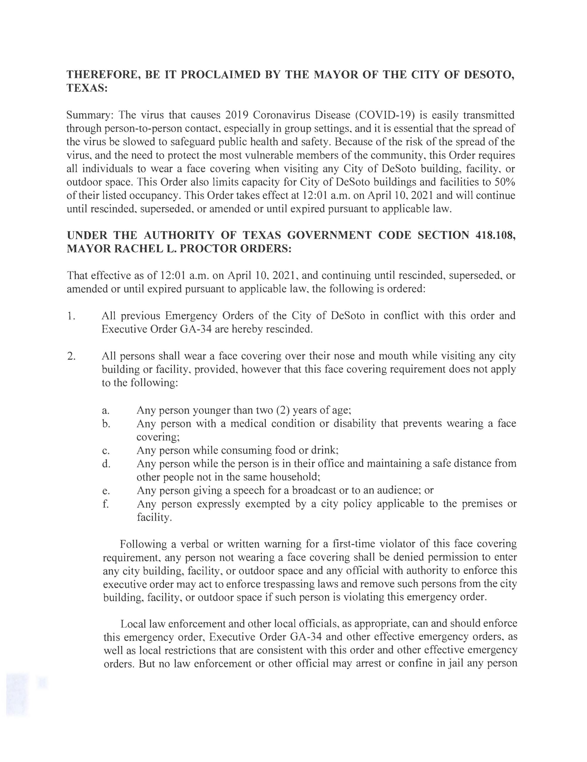 2021-04-10 Executive Mask Order from Mayor Proctor_Page_2