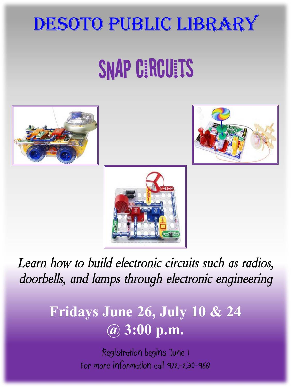 Desoto Tx Official Website Build Electronic Circuits Snap Circuit Flyer