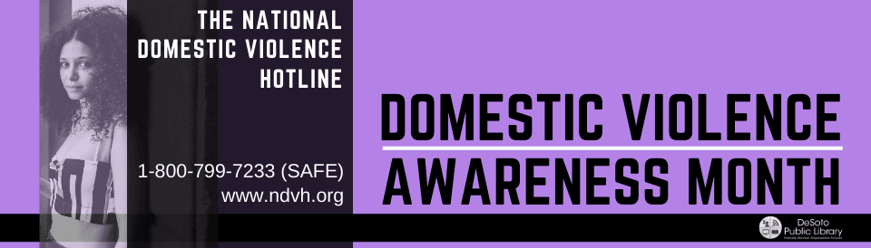 Domestic Violence Awareness Month 2020 - Click here for some related books in our collection